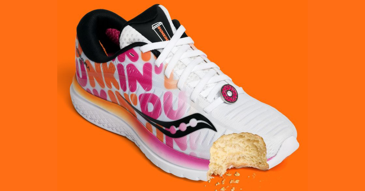 reputable site d94a2 e3dad Dunkin  Donuts dips into the sneaker business