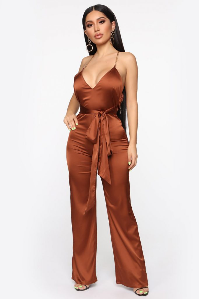 Chic jumpsuit for summer