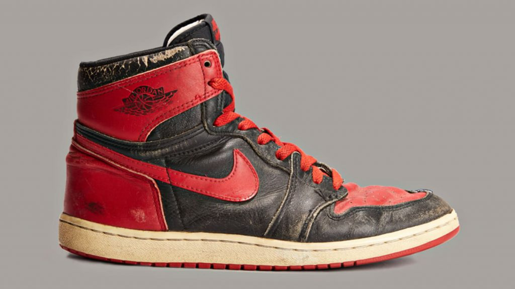 Air Jordan 1 Black & Red - 1985