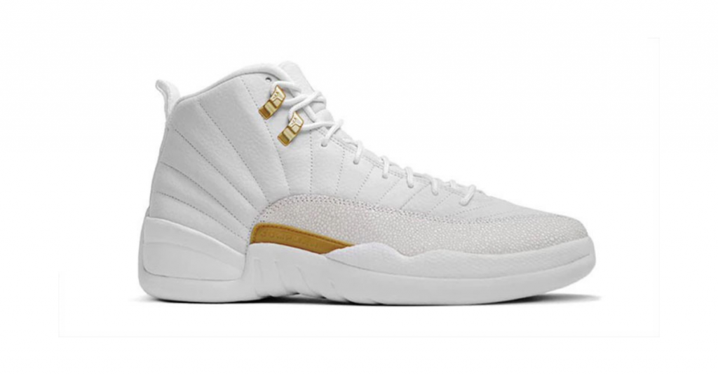 Air Jordan 12 OVO on a white background