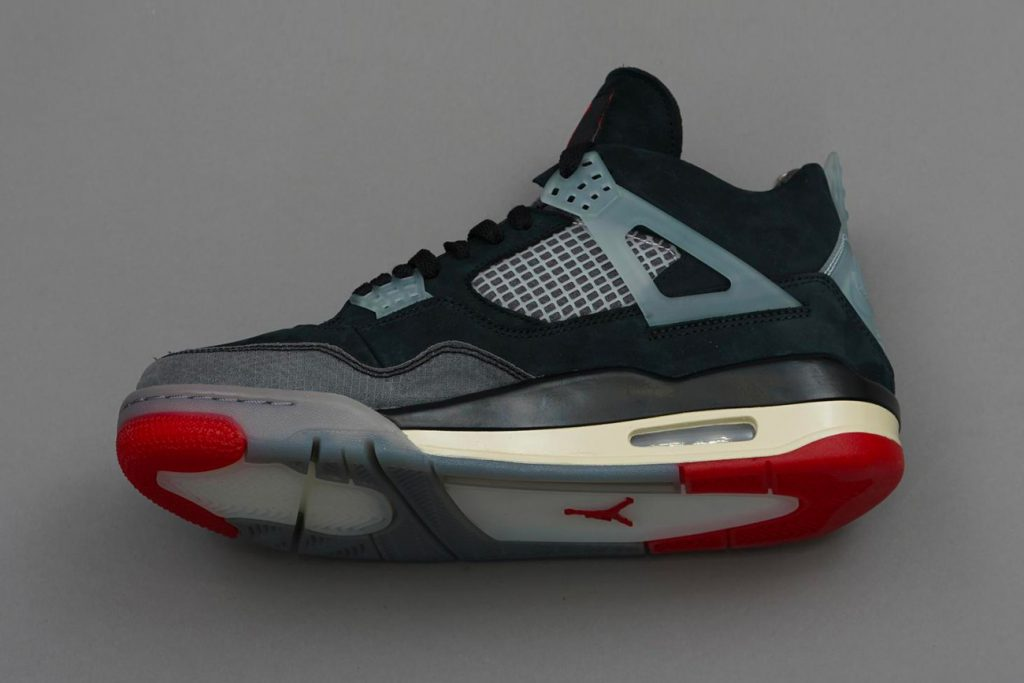 Air Jordan 4 sneaker prototype by Virgil Abloh Off-white