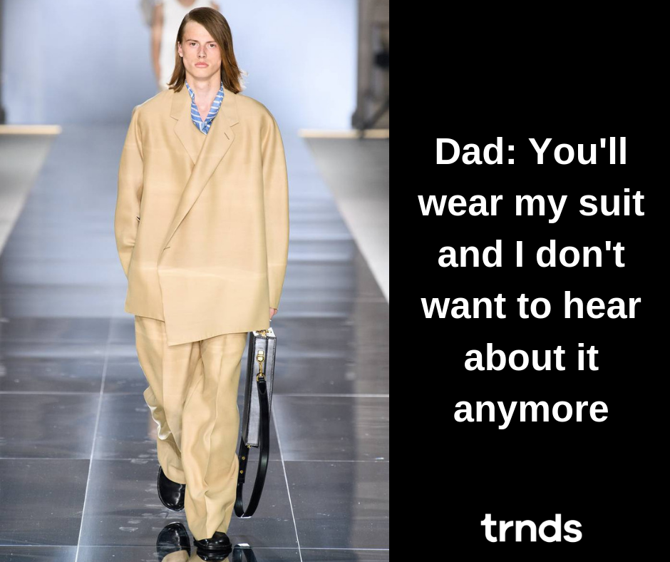 Meme about Dunhill Fashion Show