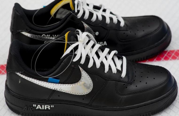 Off-White x Nike sneaker prototype by Virgil Abloh
