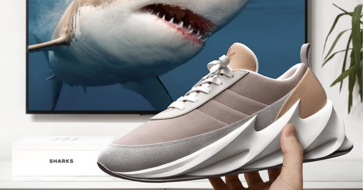 Adidas New Shark Sneaker Concept