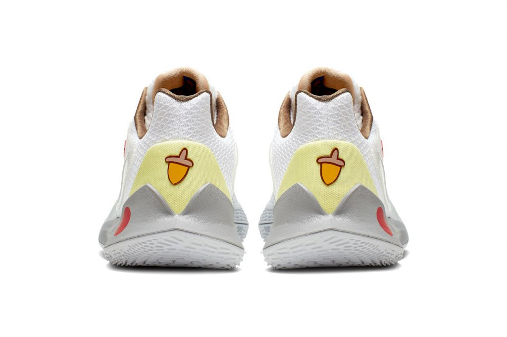 Sandy Cheeks sneaker on a white background
