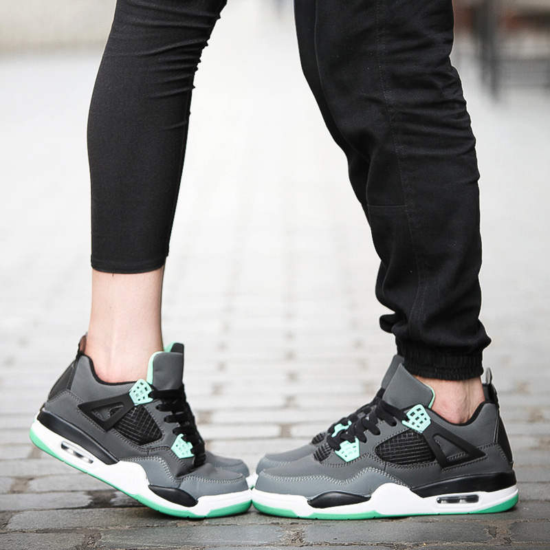 Matching sneakers with your lover