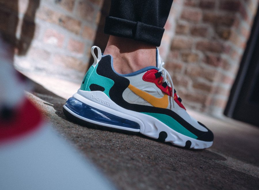 nike air max 270 react homme multicolor