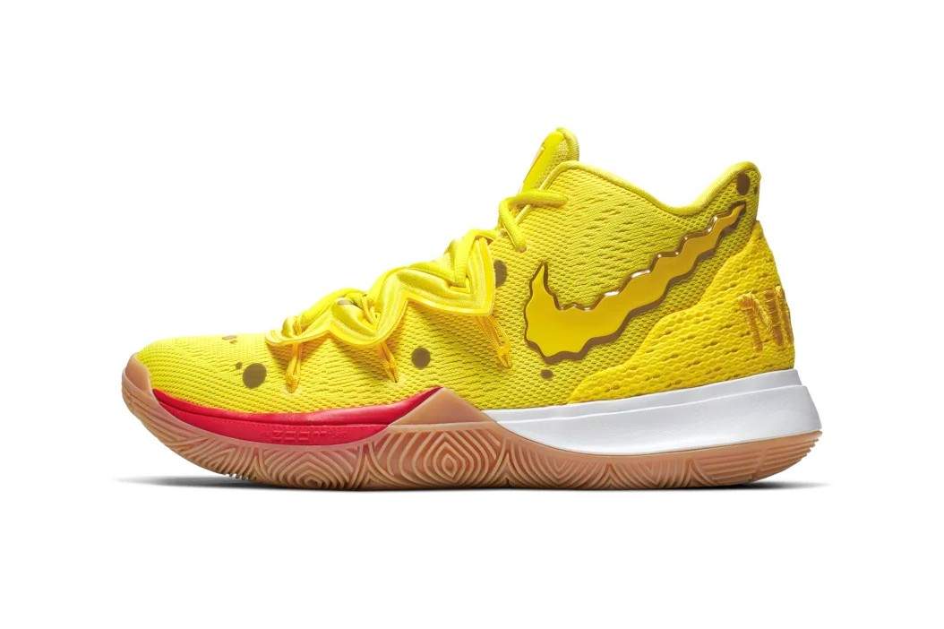 finest selection 6f1bd 19dfd SpongeBob x Nike Kyrie New Sneakers - Fashion Inspiration ...