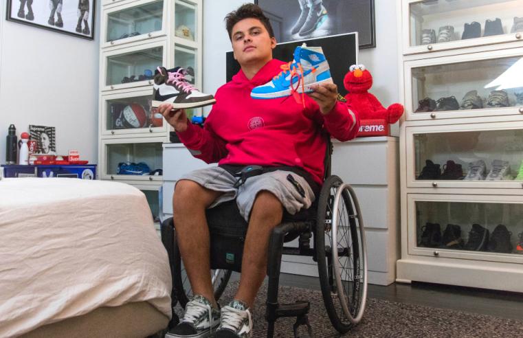 Emmanuel-Mavridakis-Wheelchair-Hypebeast-Holding-Exclusive-Sneakers