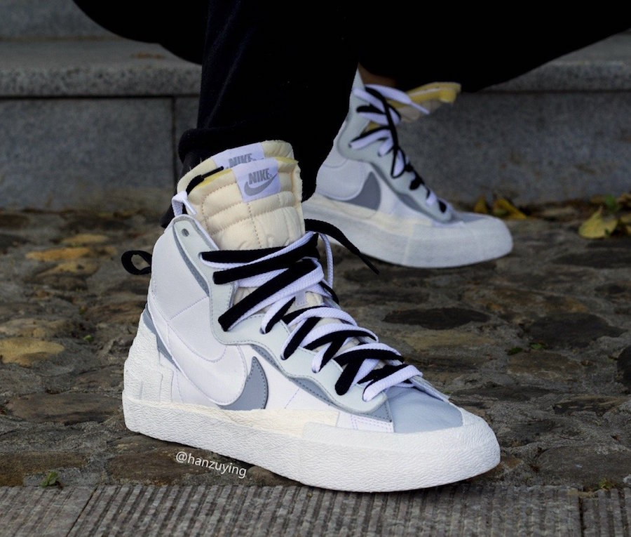 First Look at Sacai x Nike Blazer Mid