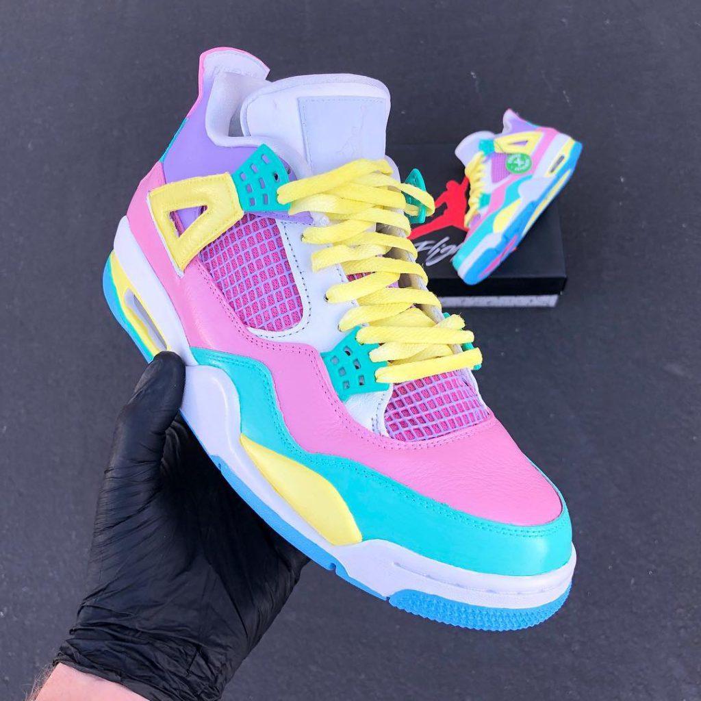 Easter-Jordan-4-sneaker-custom