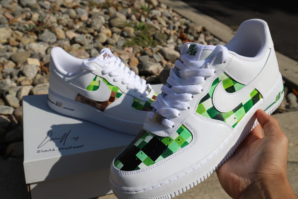 better performance sportswear hot products Minecraft Custom Af1 - Fashion Inspiration and Discovery