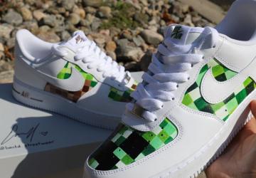 Minecraft-custom-af1-sneaker