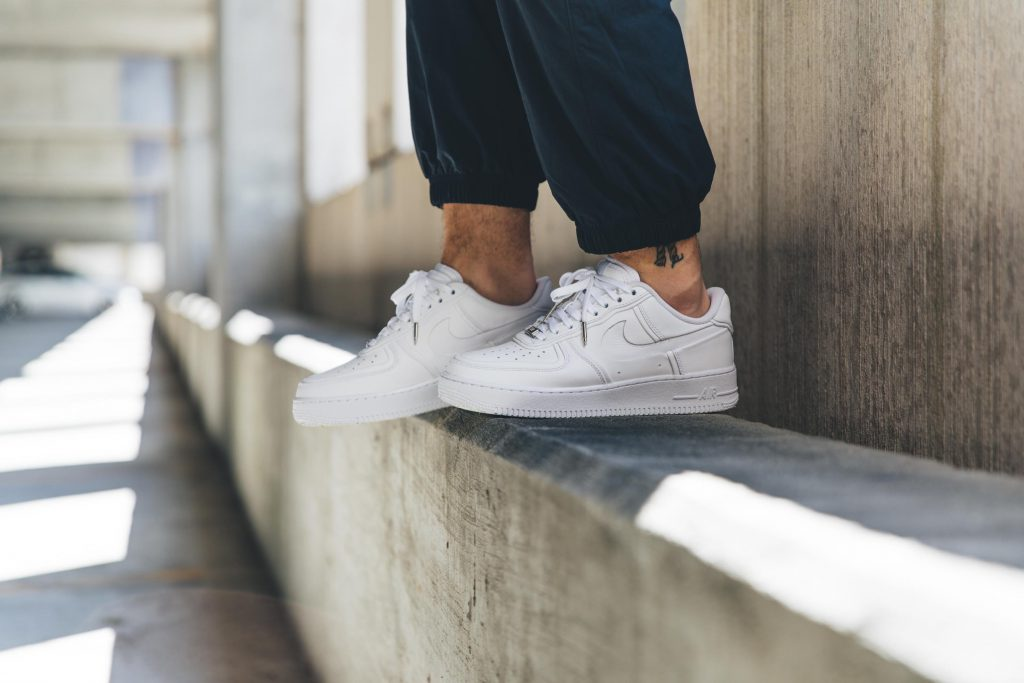 Nike-Air-Force-1-White-On-Feet-cheap-sneakers