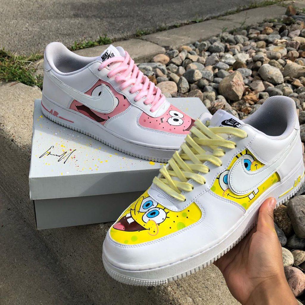 Spongebob-custom-sneaker