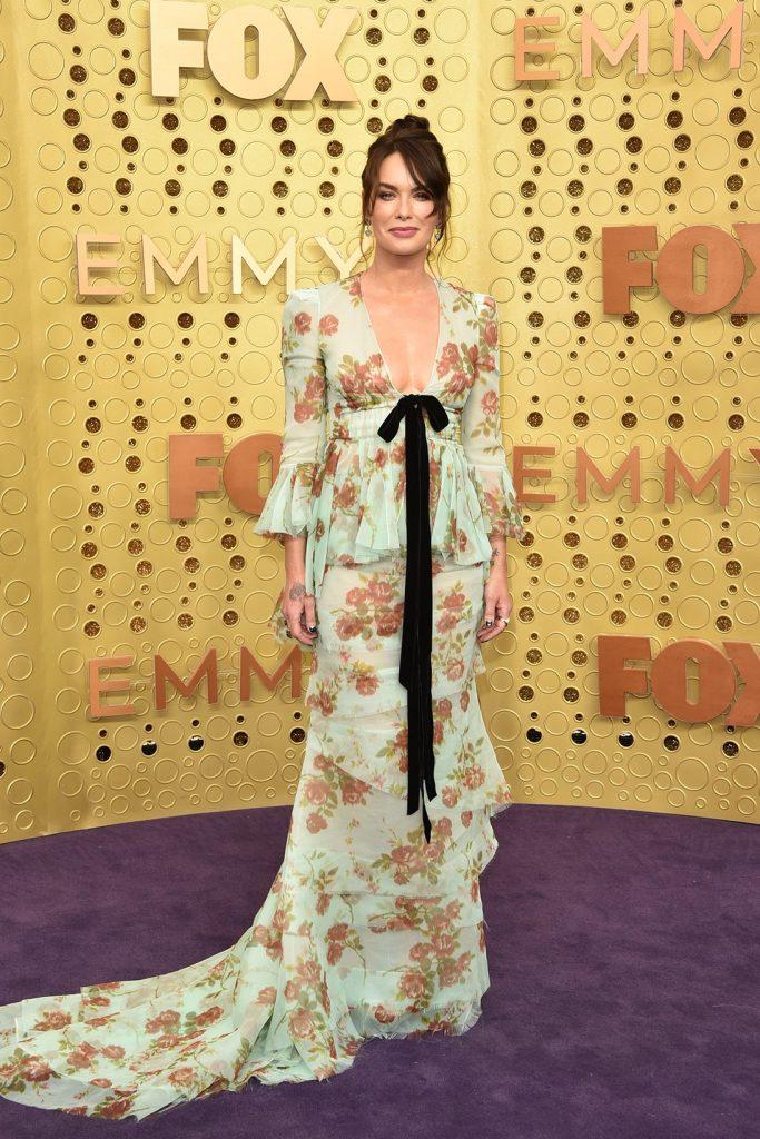 emmy-awards-best-celebrity-red-carpet-looks-Lena-Headey