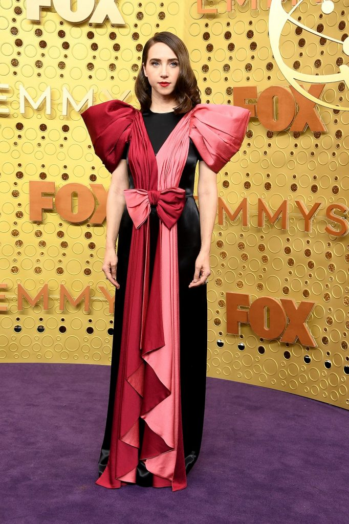emmy-awards-best-celebrity-red-carpet-looks-Zoe-Kazan