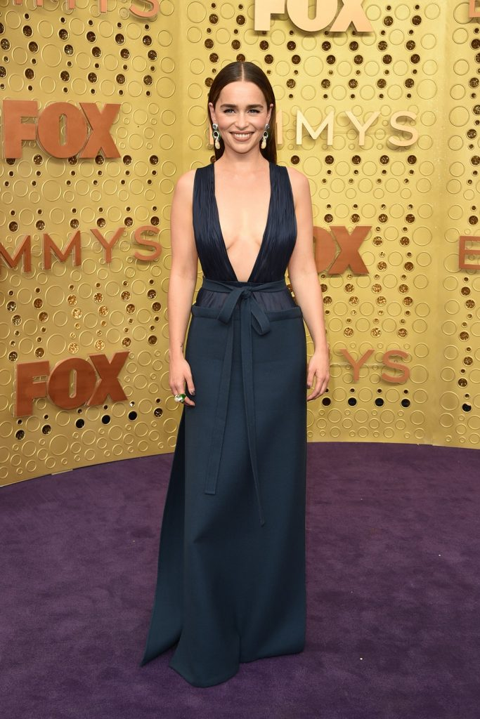 emmy-awards-best-celebrity-red-carpet-looks-Emilia-Clarke