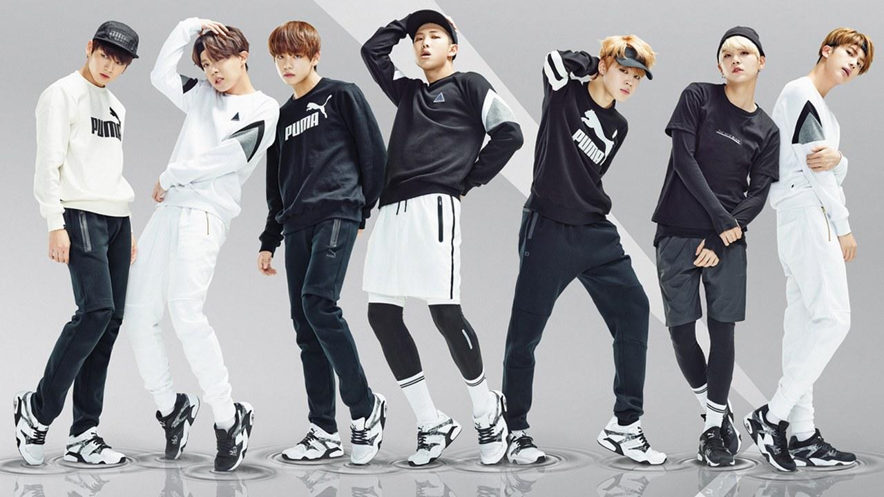 gorąca wyprzedaż gorąca sprzedaż online najtańszy FILA Signs BTS as its New Global Brand Ambassadors - Fashion ...