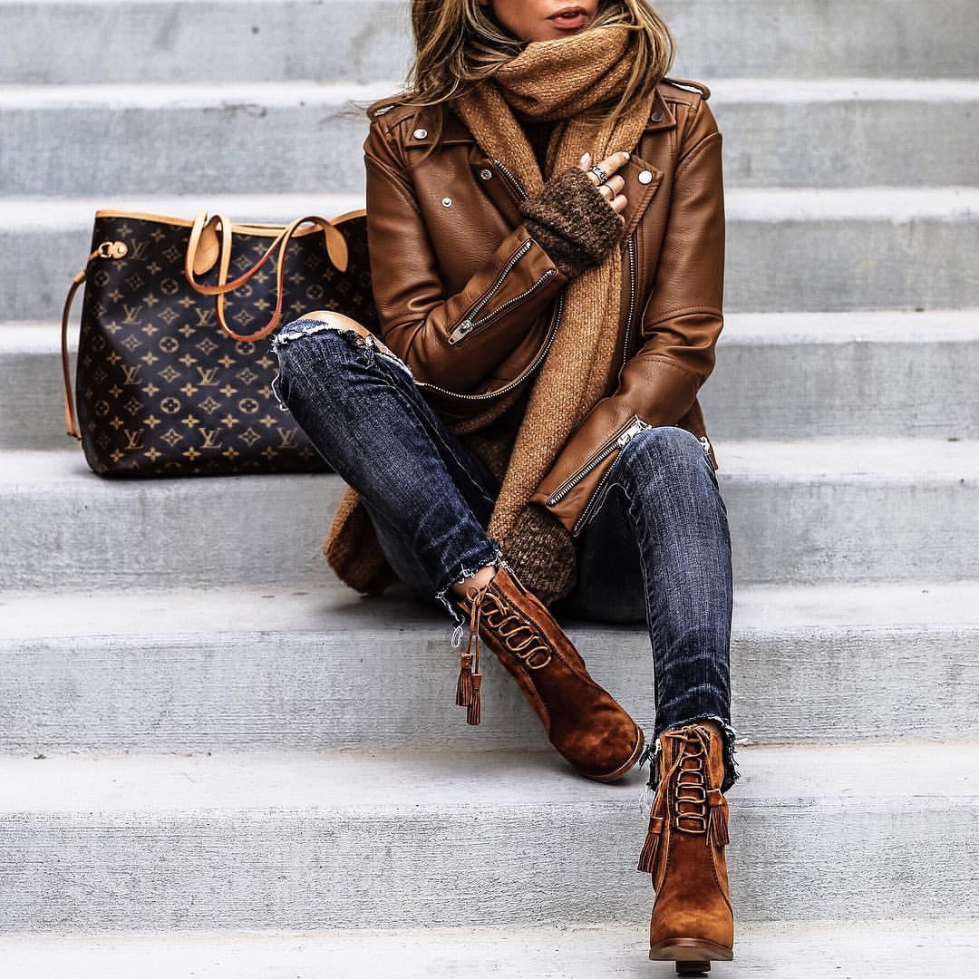 brown-leather-jacket-women