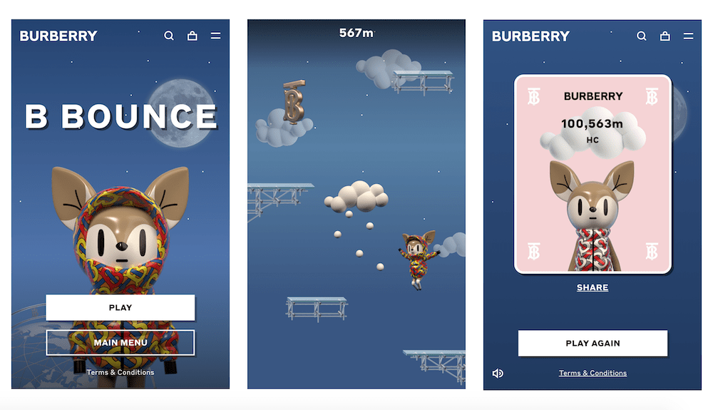 Burberry-B-Bounce-game