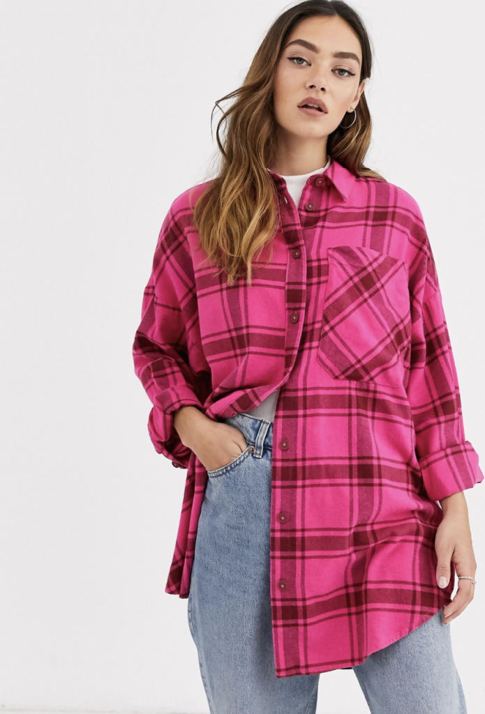 Pink-flannel-shirt