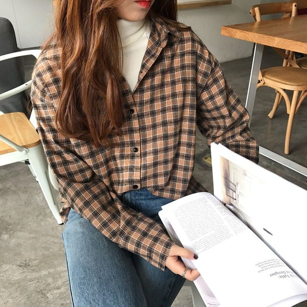 Vintage-flannel-trend-outfit