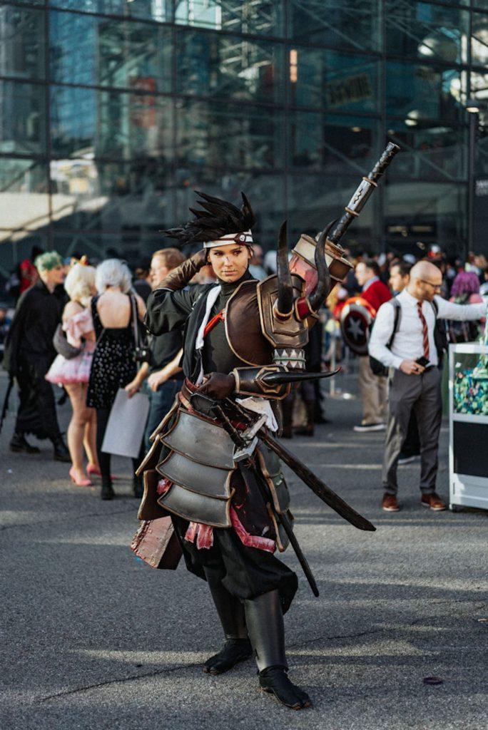 cosplay-comic-con-new-york-2019-samourai