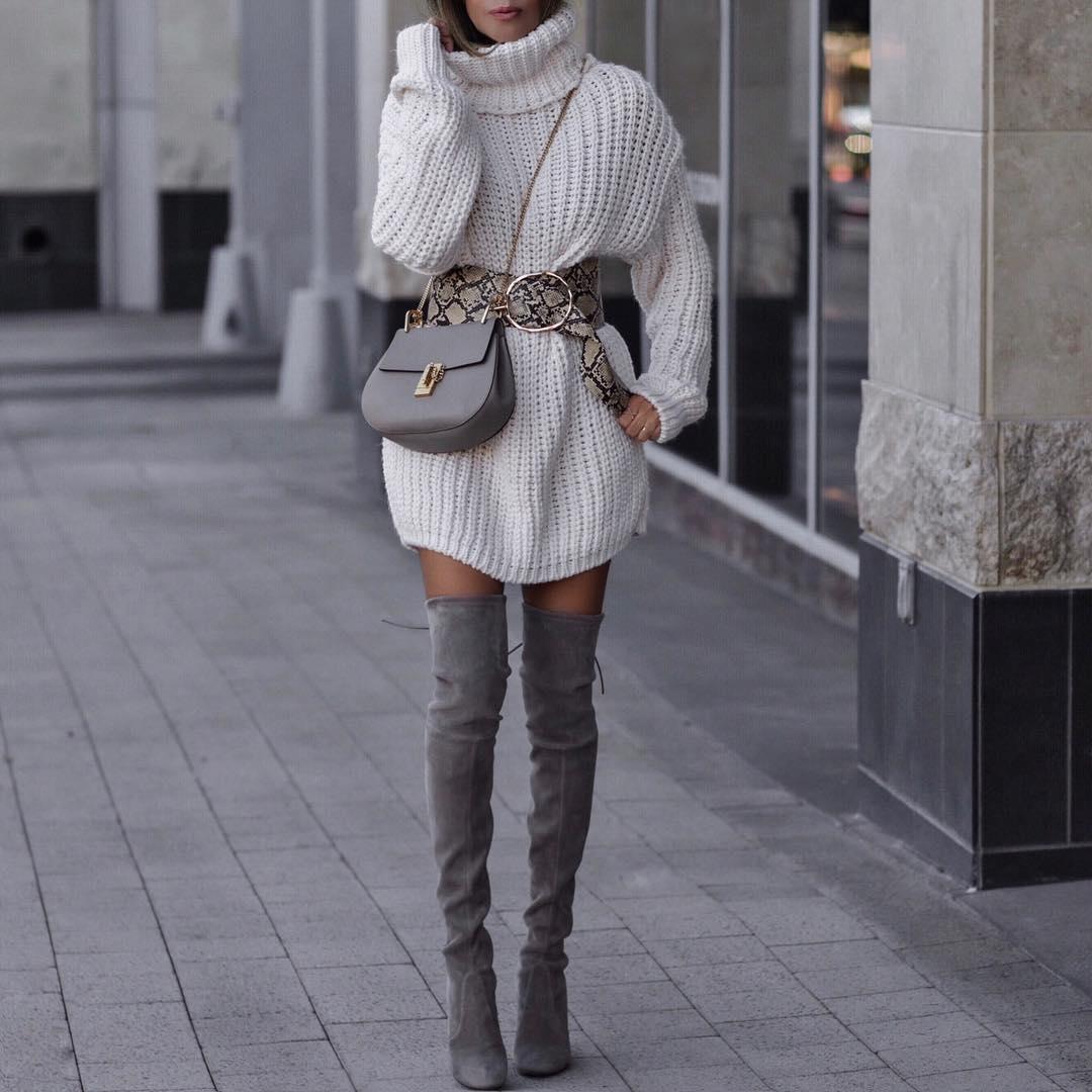 style-sweater-dresses-belt