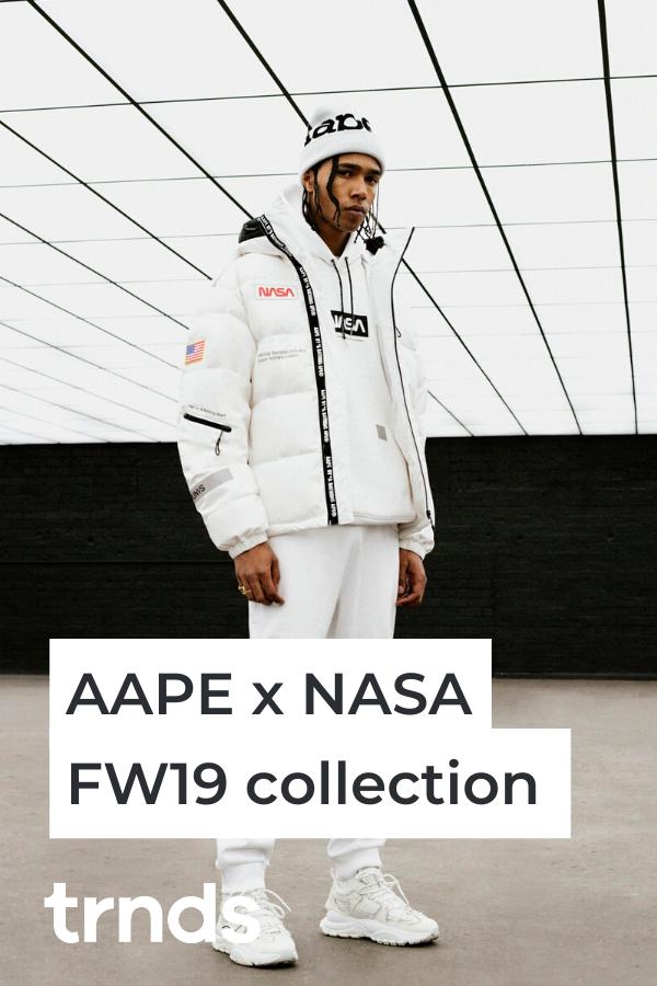 AAPE x NASA