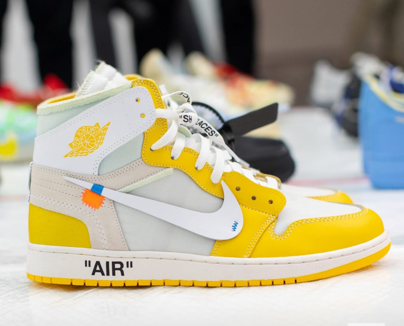 "Off-White x Air Jordan 1 ""Canary Yellow"" rumored for 2020 ..."