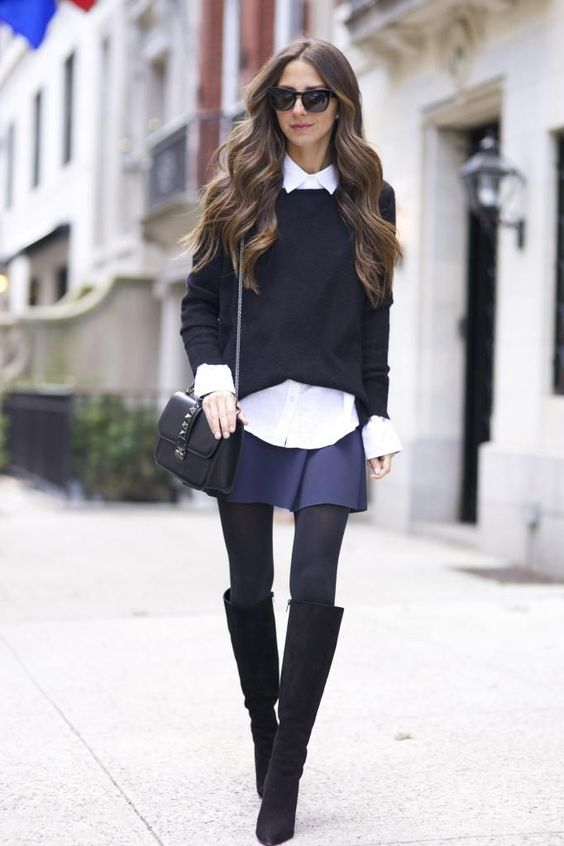 Shorts-in-winter-outfit