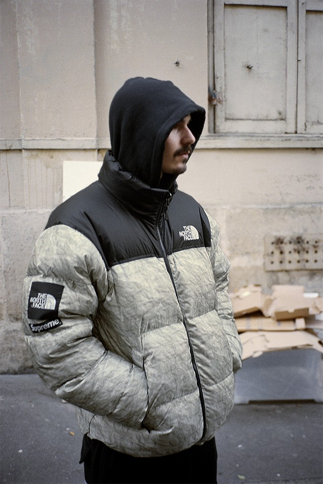 Supreme-The-North-Face-Nuptse-jacket-front-view