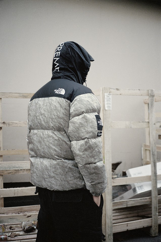Supreme-The-North-Face-Nuptse-jacket-back-view