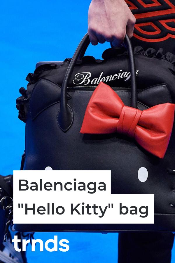 balenciaga-hello-kitty-bag-black