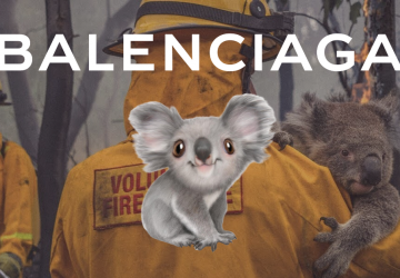 Balenciaga-koala-collection-to-help-australia-bushfire-disaster