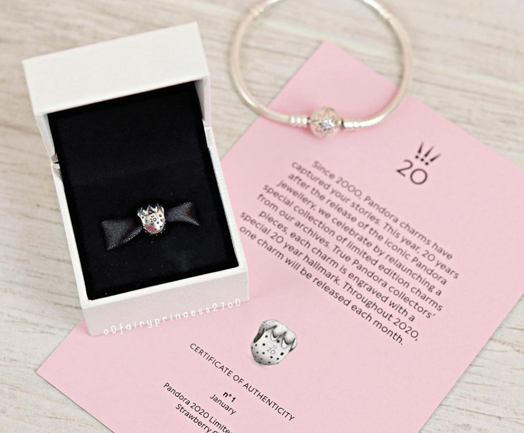 Every Month Pandora Will Release a Limited Edition Anniversary Charm