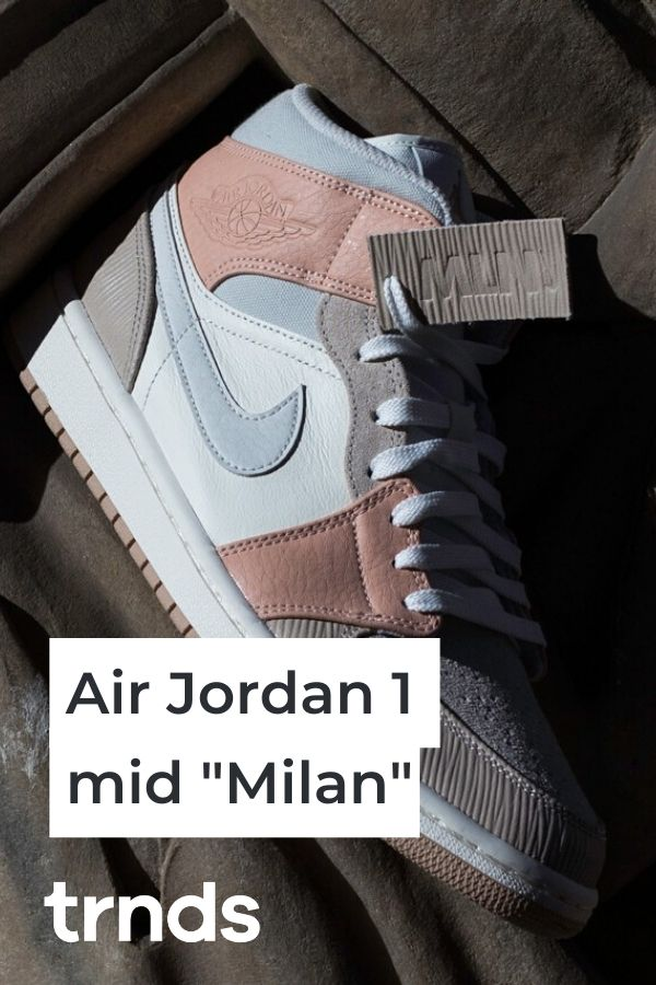 The Air Jordan 1 Mid Milan Is Inspired By Classic Italian