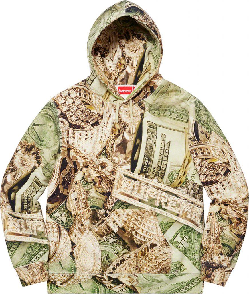 Supreme-spring-summer-2020-complete-look-dollar-bills-hoodie