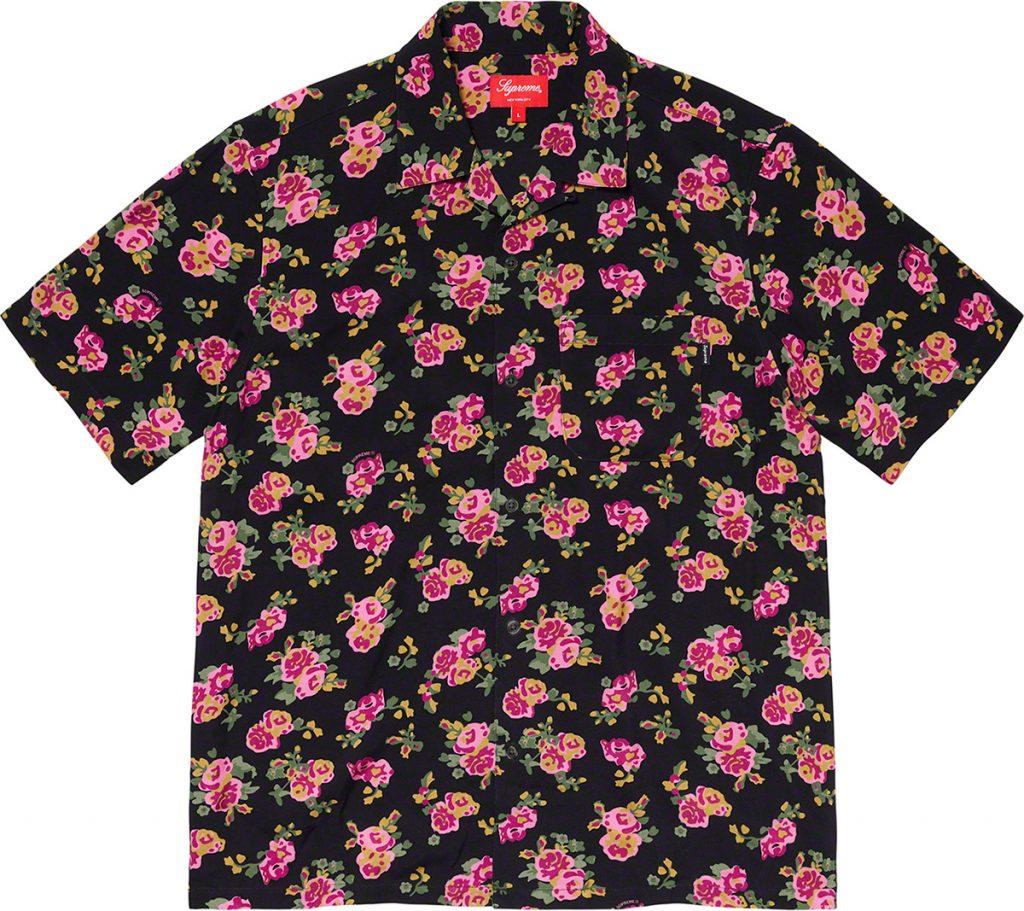 Supreme-ss2020-release-date-floral-print-short-sleeved-shirt
