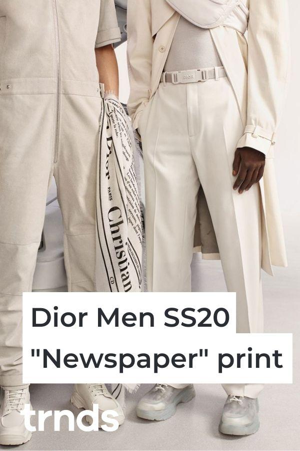 dior-daniel-arsham-newspaper-print