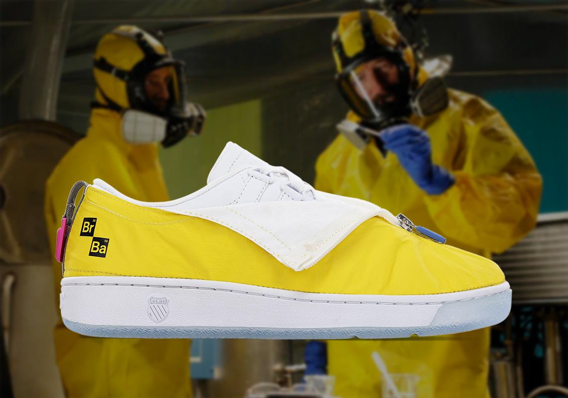 Ilegible Carrera Disminución  The Breaking Bad K-Swiss Classic 2000 Sneaker Collection | Trnds