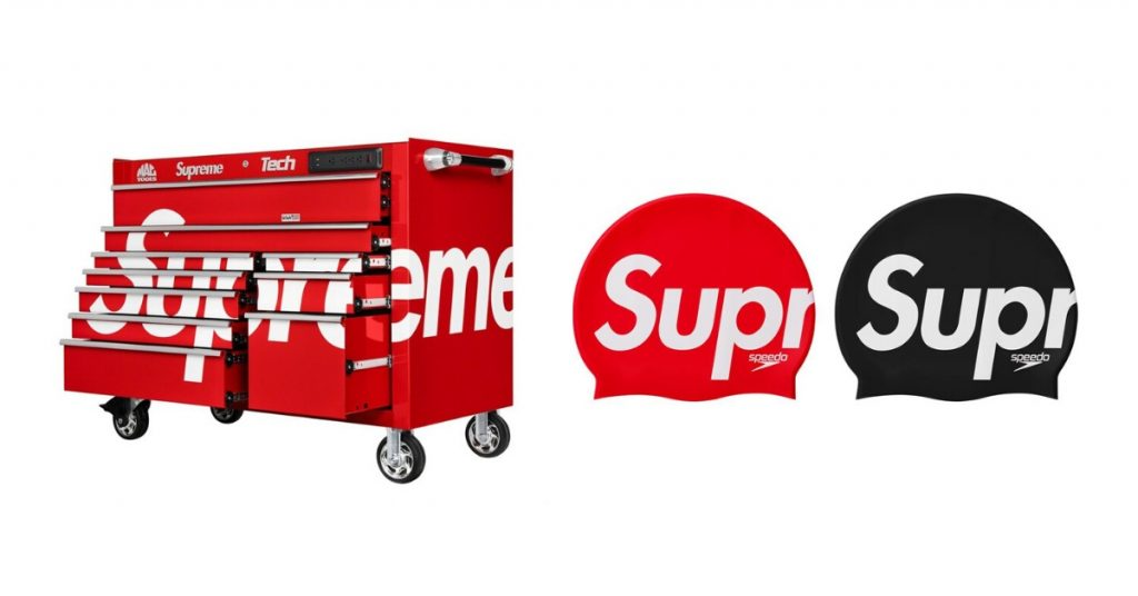 Supreme-ss20-accessories-mac-tools-workstation-swimming-cap-speedo