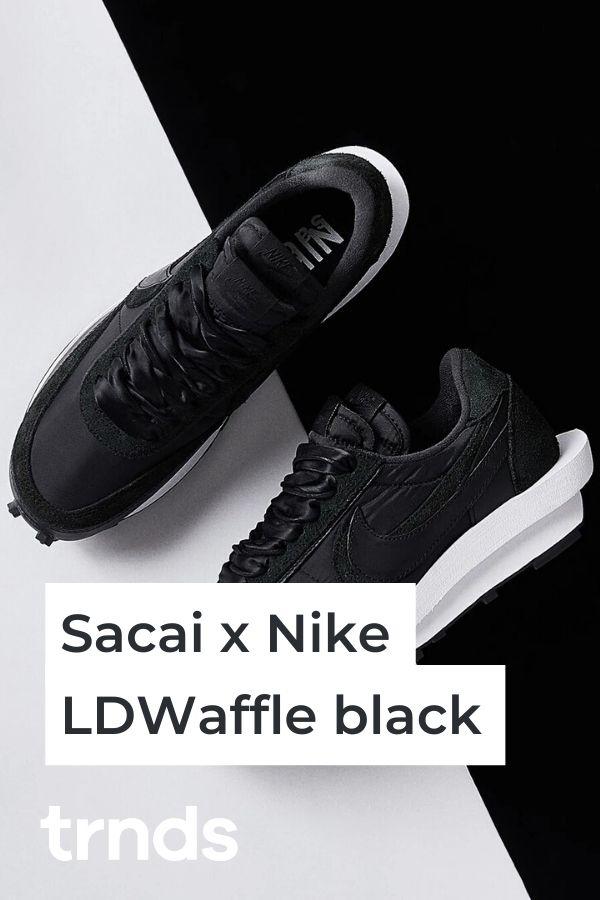 Sacai-Nike-LDWaffle-black
