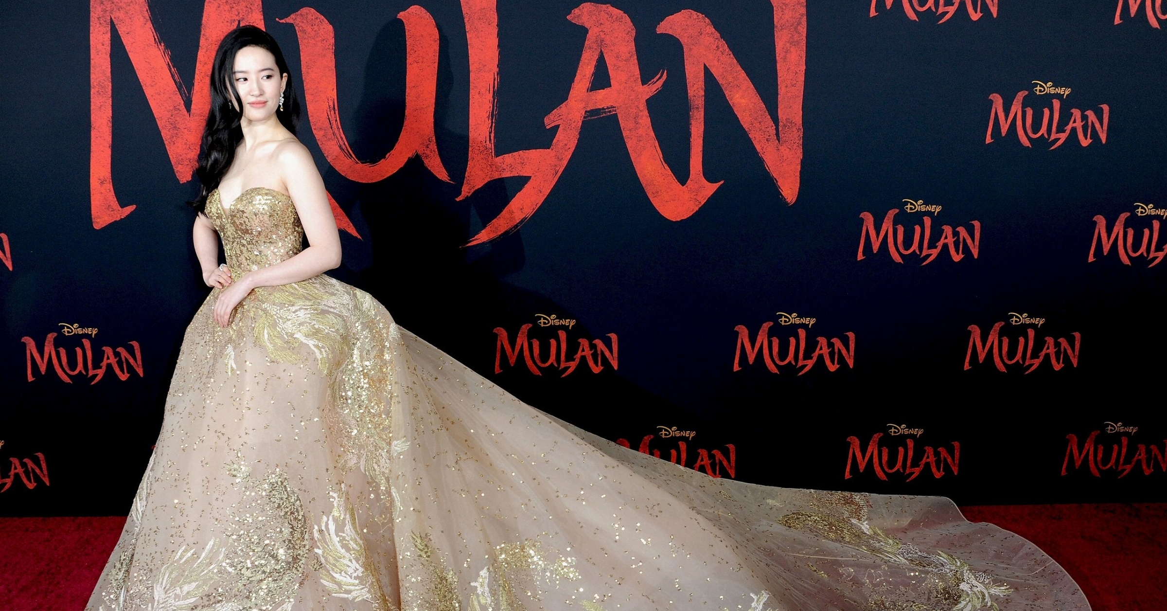 All The Best Looks From Disney S Mulan Red Carpet Premiere Trnds