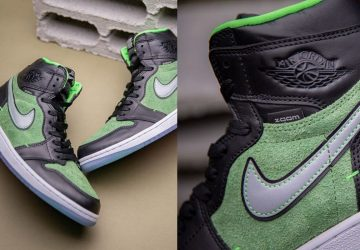 Air-Jordan-1-Zoom-Green-black